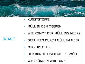 Runder Tisch Meeresmüll Planspiel - Präsentation